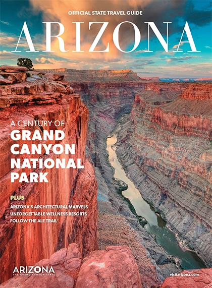 Travel Map Of Arizona.Arizona State Travel Guide Map Tourism Az